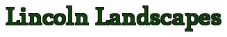 Lincoln Landscapes Logo